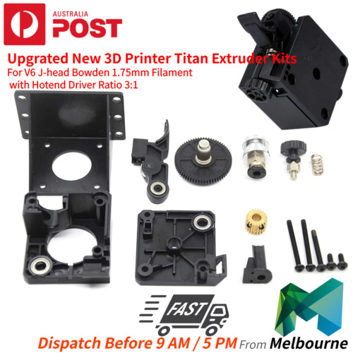 Upgrated New 3D Printer Titan Extruder Kits For V6 J-head Bowden 1.75mm AU STOCK