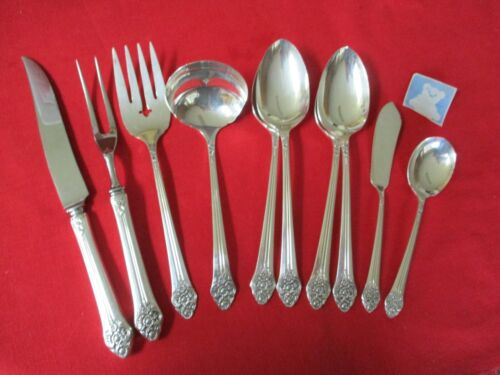 (10) 1881 Rogers Silverplate Serving Pieces, 1948 Plantation   #13