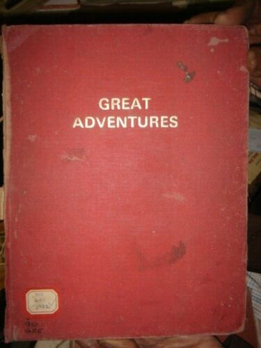 GREAT ADVENTURES PUBLISHER PURNELL  ILLUSTRATED - OAK ISLAND'S MONEY PIT , ETC