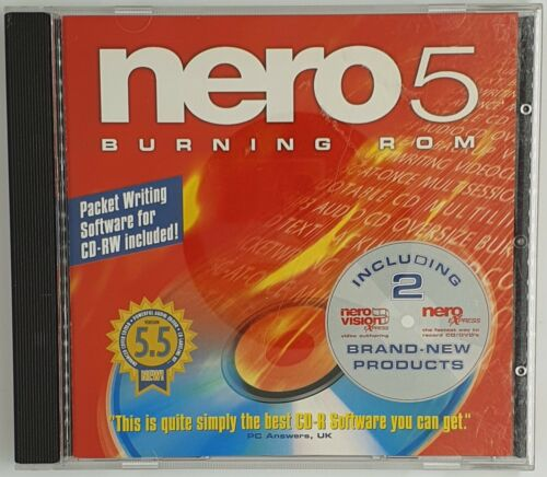 Nero 5 Express Burning ROM  (includes both Nero Vision and Nero Express)