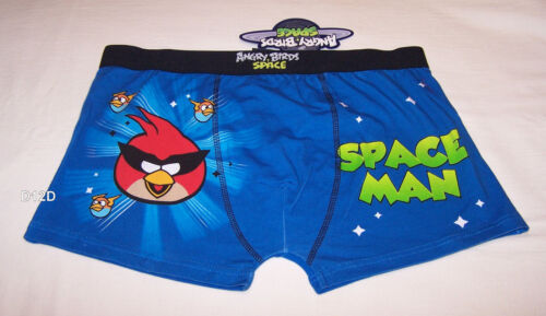 Angry Birds Space Mens Blue Printed Trunk Brief Size XL New