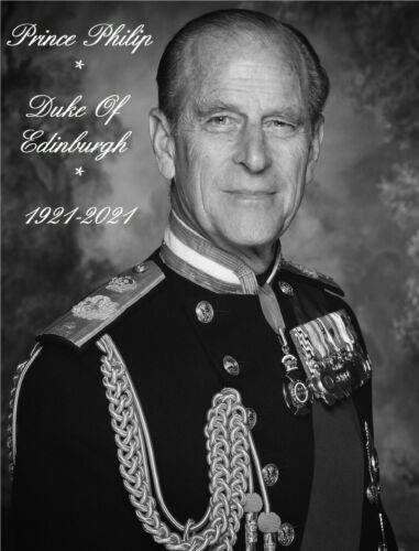 "PRINCE PHILIP, DUKE OF EDINBURGH MEMORIAL FRIDGE MAGNET 5"" X 3.5"""