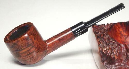 Comoy's GUILDHALL - LONDON PIPE 495, Gorgeous Grain! Twin Bore, NEAR MINT!