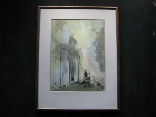 JEAN JANSEM (Armenian/French) Color Lithograph initialed 63/200 OUVRES GRAPHIQUE