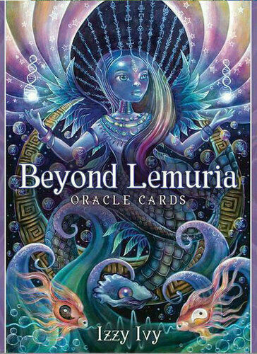 Beyond Lemuria Oracle Cards 78 Cards Tarot Cards Deck With PDF E-Guidebook