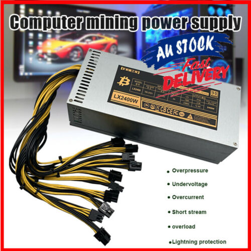 Modular Mining Power Supply up 2000W PSU For ETH Rig Ethereum Miner S9 S7 L3+