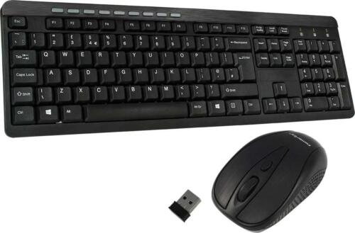 Wireless Keyboard And Mouse Set, Ergonomic 2.4Ghz Cordless, Slim Multi-Media Sho <br/> Trusted Seller - Top Quality - Money Back Guarantee