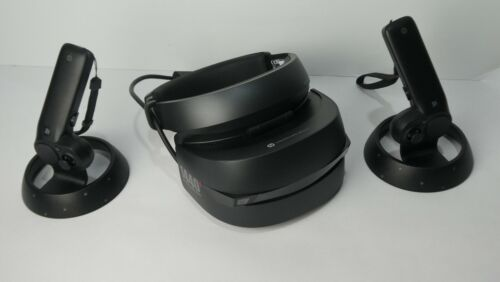 HP Windows Mixed Reality WMR PC VR Headset and Controllers