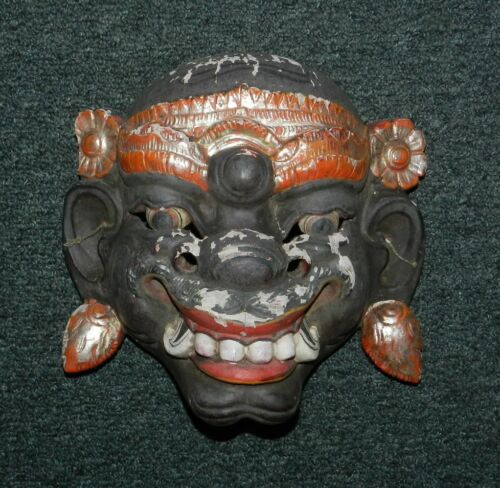 OLD INDONESIAN  MASK