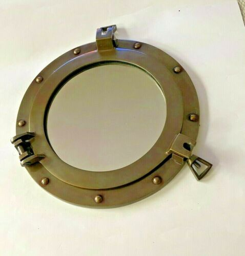 PORT HOLE MIRROR NAUTICAL COLLECTABLE 30 CM