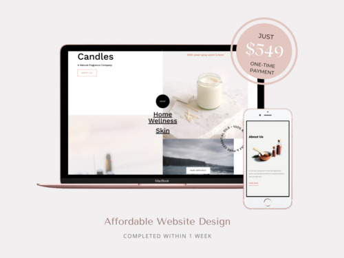 Small Business Website Package - Affordable WordPress Web Design