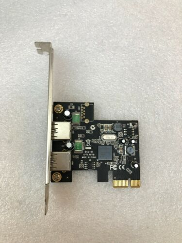 PCI-E PCIE to 2 Port USB3.0 5Gbps Interface Expansion Card Converter 19Pin AUS