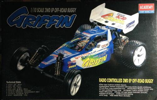 GRIFFIN ACADEMY CA-142 1565 1/10 2WD BUGGY KIT RC CAR - VINTAGE NEW IN BOX