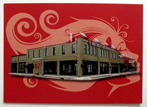 MOTHER EARTH BREWING  brewery Post Card  MI
