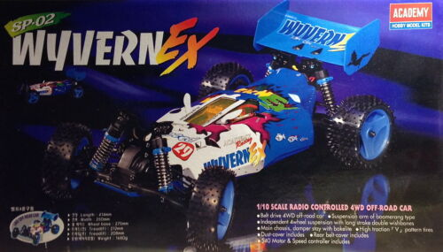 WYVERN EX ACADEMY SP-02 1/10 4WD BUGGY KIT RC CAR - VINTAGE NEW IN BOX