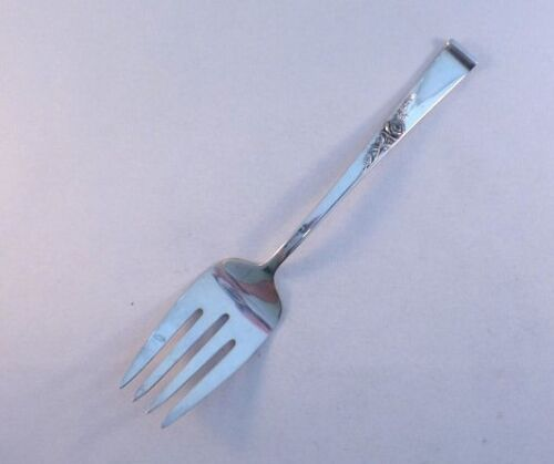 CLASSIC ROSE-REED & BARTON STERLING COLD MEAT FORK(S)