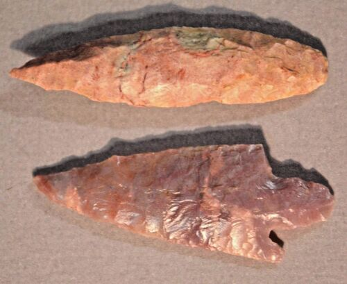 African Neolithic Stone Projectile Points Arrowheads Sahara Desert, Africa