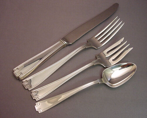 ETRUSCAN-GORHAM STERLING 4 PIECE LUNCH PLACE SETTING(S)-*FRENCH BLADE*
