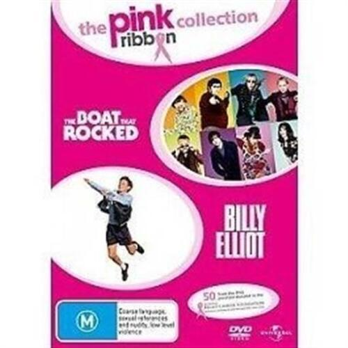BOAT THAT ROCKED, THE & BILLY ELLIOT Pink Ribbon Collection 2DVD NEW