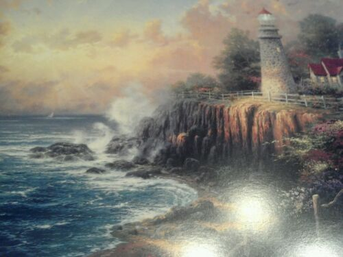 Light of Peace Print by Thomas Kinkade in 11 x14  Matte with COA