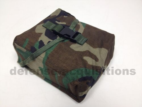 New USGI Military 200 Round Saw Pouch / Utility Pouch - Woodland Camo- MOLLE IIPouches - 158437