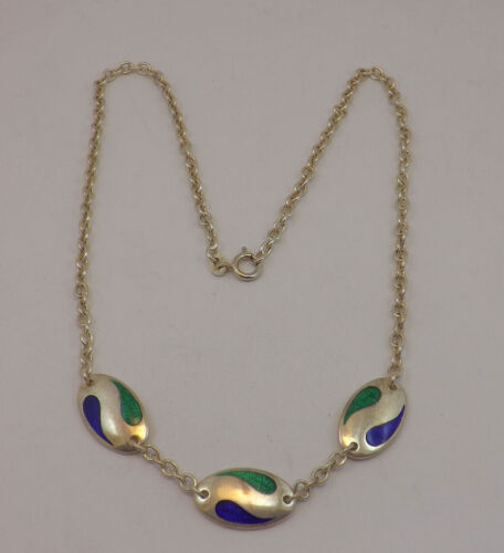 COLLIER IN ARGENTO VINTAGE ANNI '70 SILVER COLLIER NECKLACE