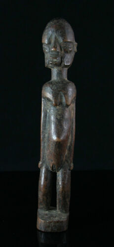 African figure, carved wood, genuine old, pre 1940 or much older, Dogon, 21cm