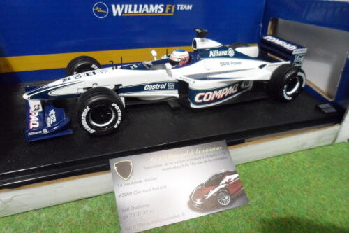 F1 WILLIAMS BMW FW22 BUTTON 2000 1/18 HOT WHEELS 26736 formule 1 voiture collect