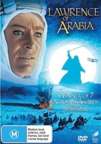LAWRENCE OF ARABIA Peter O'Toole, Anthony Quinn DVD NEW