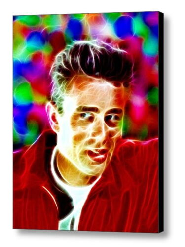 Framed Magical James Dean 9X11 Art Print Limited Edition w/signed COA
