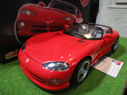 DODGE  VIPER RT/10 cabriolet rouge 1/12 ANSON 30318 voiture miniature collection