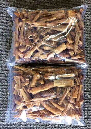 Natural Steer Ends & Pieces & Sticks 5Lbs Bully Dog Chews Training Treats Dental