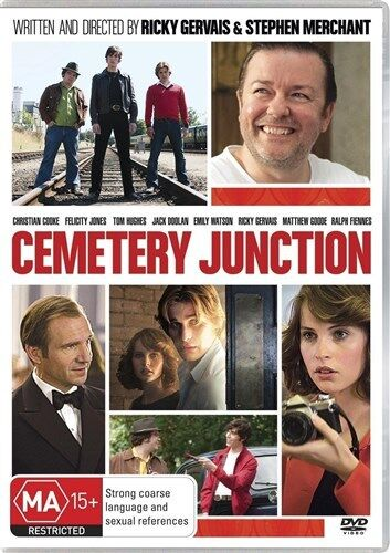 CEMETERY JUNCTION Emily Watson, Ricky Gervais, Ralph Fiennes DVD NEW