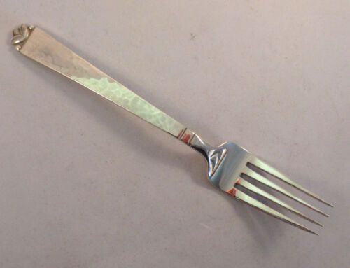 Oak Leaf Gold  - Old Newbury Crafters Sterling Fork 7""