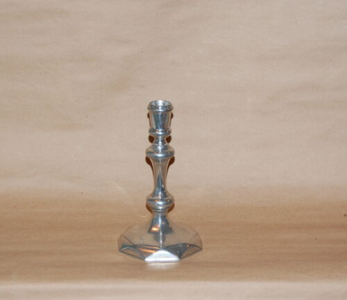Williamsburg Stieff Pewter CW 30 Queen Anne Candlestick