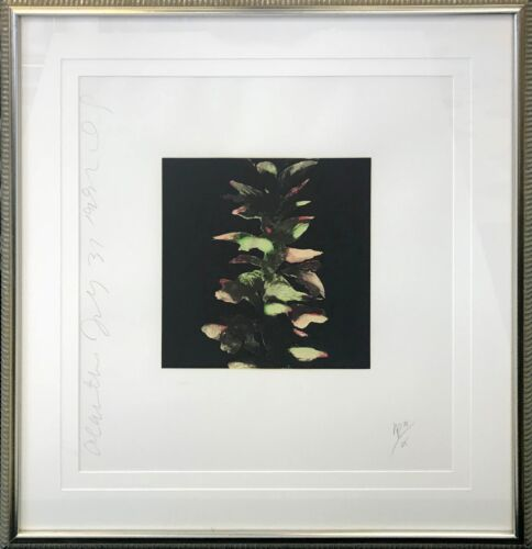 "DONALD SULTAN ""ACANTHUS"" 1992 