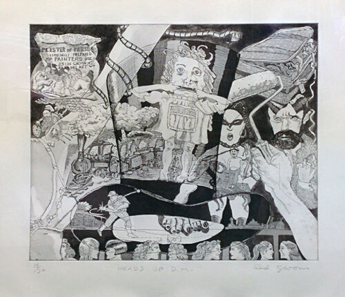 """RED GROOMS """"HEADS UP D.H."""" 1980 