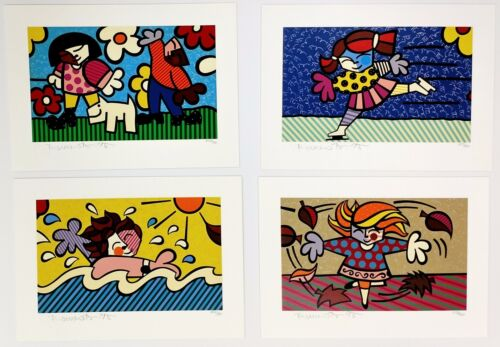 """ROMERO BRITTO """"SEASONS OF MIRACLES"""" 