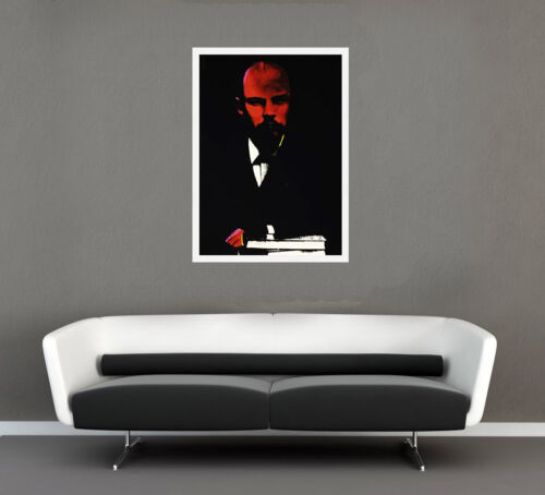ANDY WARHOL II.402: LENIN 1987   SCREENPRINT   AUTHENTICATED   OTHERS AVAILABLE