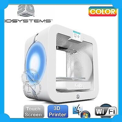 3DS Cube Wireless Plastic Dual Jet Plug&Play 3D Printer w/Touch Screen *EX-DEMO*