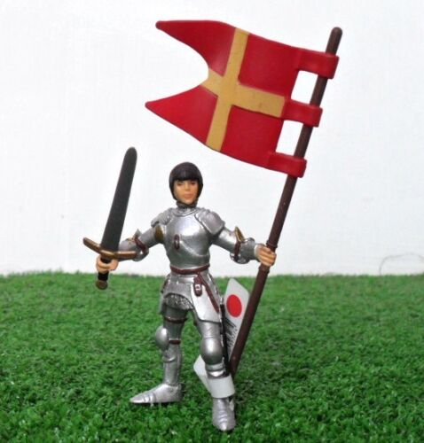 Blue Flanders Knight 39931 Papo The Medieval Era Figure