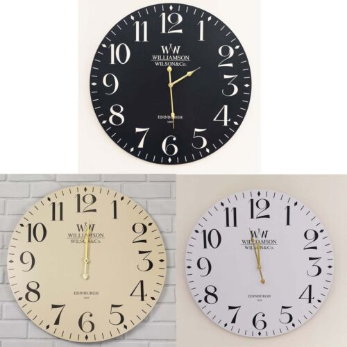 Large Vintage Antique Rustic Round Home Bedroom Retro Time Kitchen Wall Clock