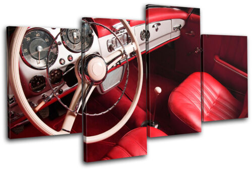 Car Interior Transportation MULTI Leinwand Wand Kunst Bild drucken