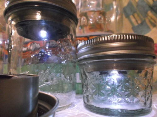 12 Solar Lid Light for Mason jar lights turns on automatically  Hot New Item