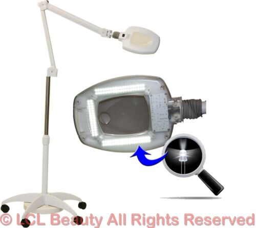 New LED (16) Diopter (5X) Magnification Magnifying Mag Lamp Spa Salon Equipment <br/> 110 SUPER BRIGHT LED BULBS, OVER 50,000 HOURS of USE