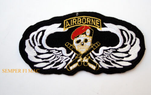 US ARMY AIRBORNE RANGER WINGS COLLECTOR PATCH AIR ASSAULT PARACHUTE USA Other Militaria (Date Unknown) - 66534