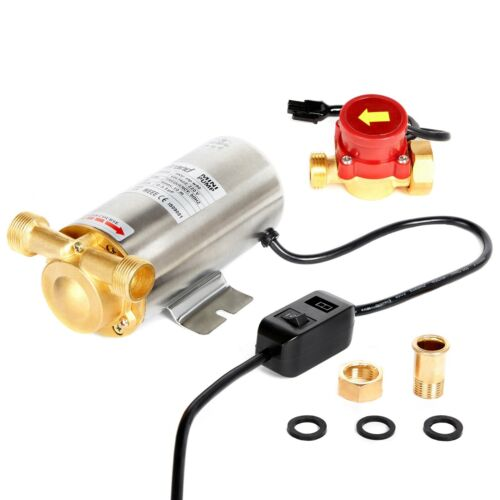 Nordstrand 90W Water Pressure Booster Pump Shower Home Automatic Stainless Steel <br/> CE CERTIFIED * PREMIUM QUALITY * ONE YEAR WARRANTY