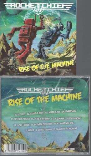 CD--ROCKETCHIEF--RISE OF THE MACHINE