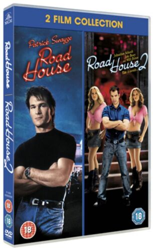 Road House + Road House 2 (Patrick Swayze) New 2xDVD R4