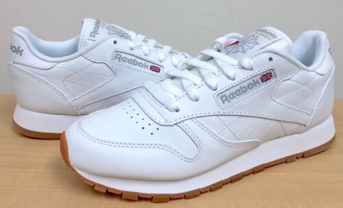 WOMENS REEBOK CLASSIC LEATHER 49801 White/Gum